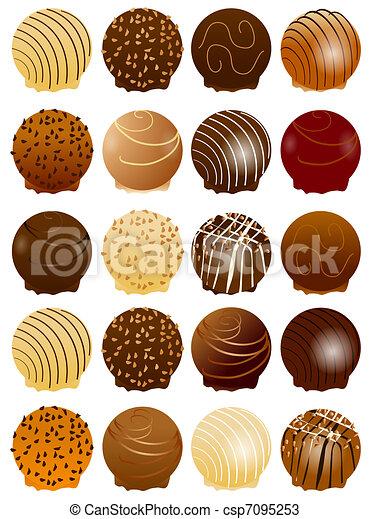 csokoládé, kellemes - csp7095253