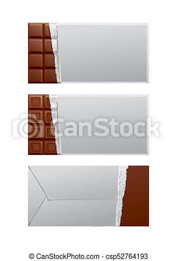 csokoládé, package., tiszta - csp52764193