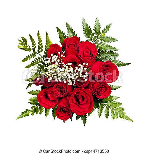 csokor, rózsa, felül - csp14713550