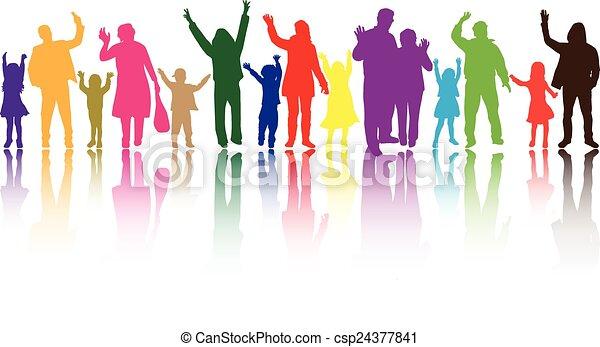 csoport, emberek - csp24377841