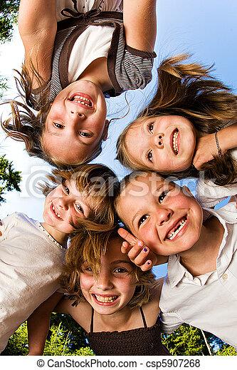 csoport, gyerekek - csp5907268