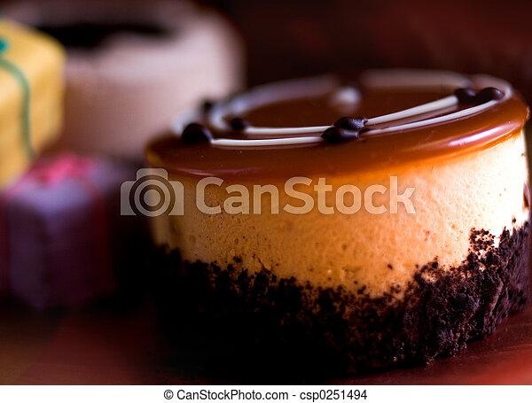 desszert, cupcake - csp0251494