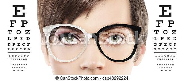 szem látás háttér)