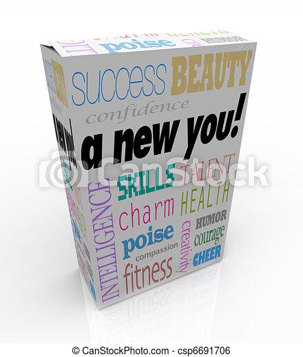 doboz, termék, eladás, pillanat, -, javítás, self-help, új, ön - csp6691706