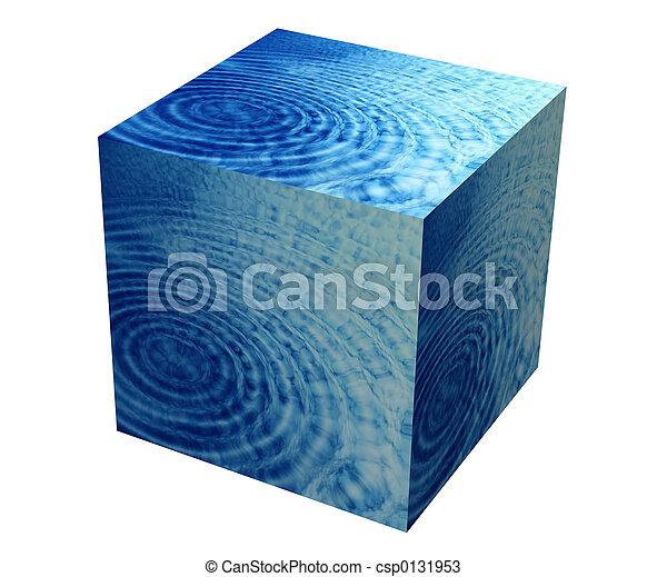 doboz, víz, dél - csp0131953