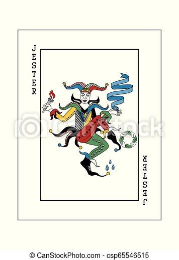 dzsóker, piszkavas, alapismeretek, játék kártya - csp65546515