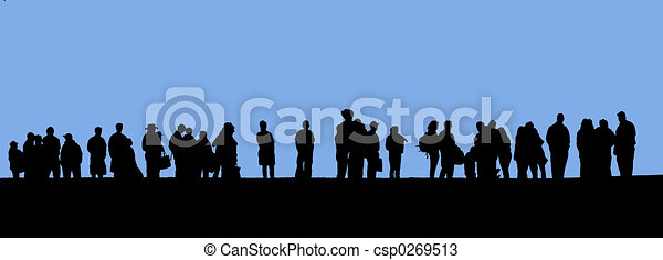 egyenes, emberek - csp0269513