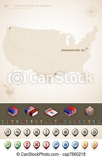 egyesült, amerika, egyesült államok - csp7660218