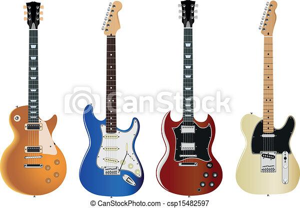 elektromos gitár - csp15482597