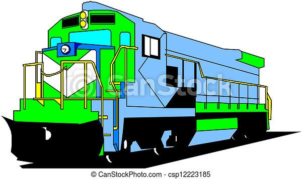 elektromos, lokomotív - csp12223185