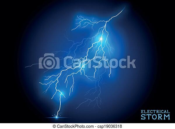 elektromos, megrohamoz - csp19036318