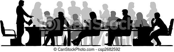 elfoglalt, gyűlés - csp2682592