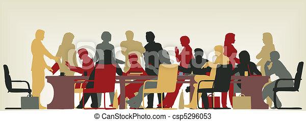 elfoglalt, gyűlés - csp5296053