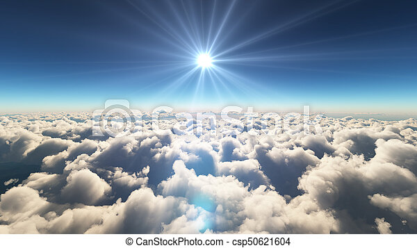 elhomályosul, napkelte, felül - csp50621604