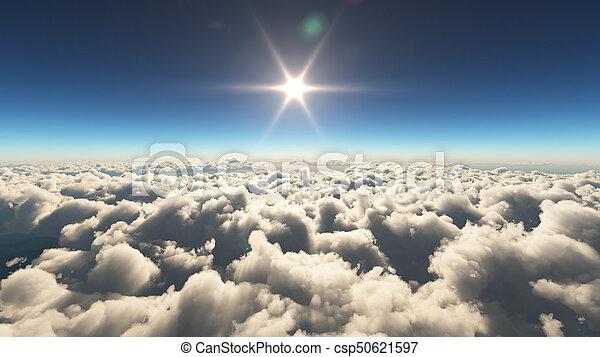 elhomályosul, napkelte, felül - csp50621597
