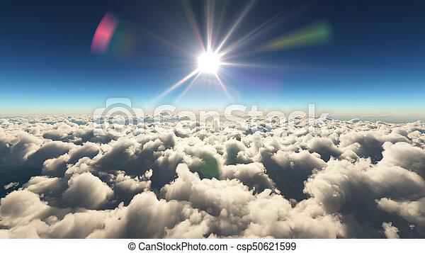 elhomályosul, napkelte, felül - csp50621599