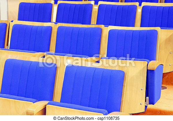 elnökké választ, kék, mozi - csp1108735