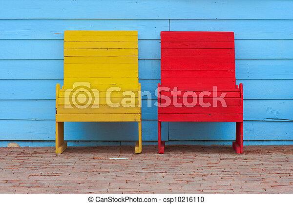elnökké választ, piros sárga - csp10216110