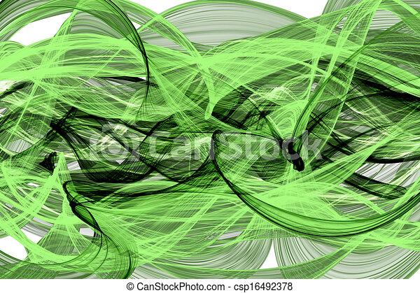 elvont, háló, meggörbült, lenget - csp16492378