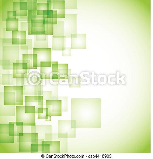 elvont, háttér, zöld, derékszögben - csp4418903