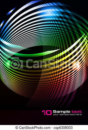 elvont, vektor, tervezés - csp6308003
