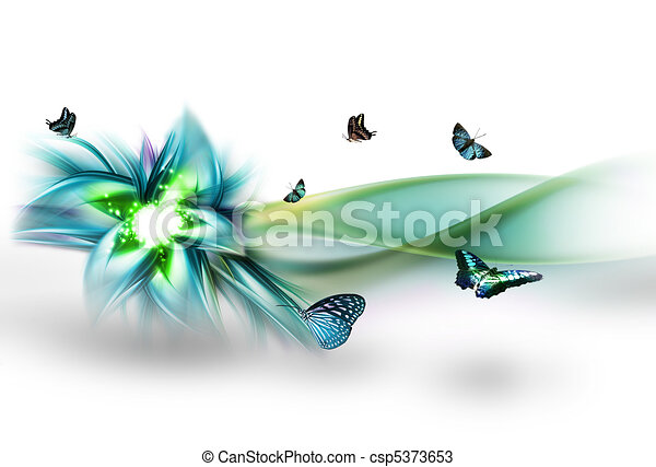 elvont, virág - csp5373653