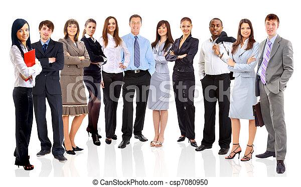 emberek ügy, fiatal, -, befog, bájos, elit - csp7080950