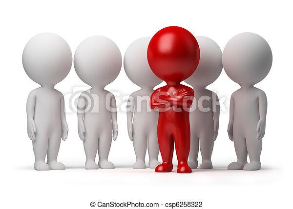 emberek, -, befog, kicsi, vezető, 3 - csp6258322