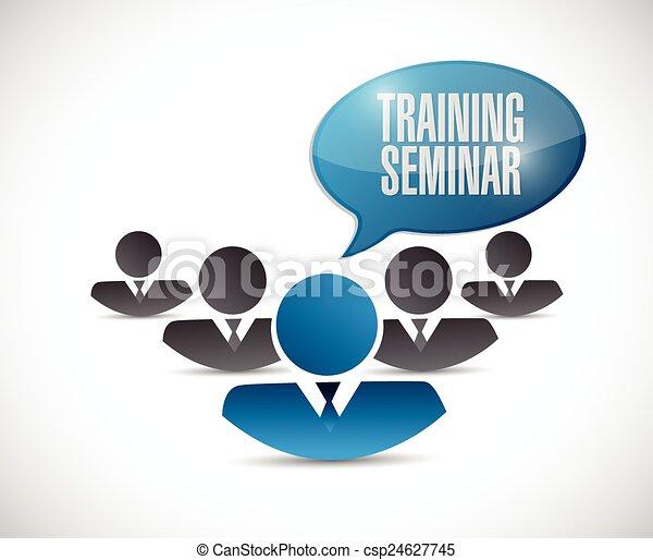 emberek, képzés, szeminárium - csp24627745