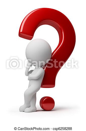 emberek, -, kérdez, komplikált, kicsi, 3 - csp6258288