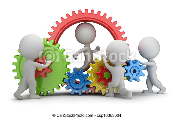 emberek, -, szerkezet, befog, kicsi, 3 - csp18363684
