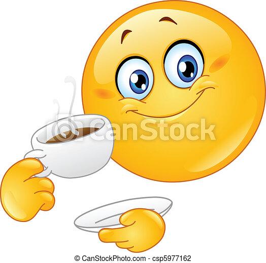 emoticon, kávécserje - csp5977162
