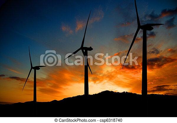 energia, felteker - csp6318740