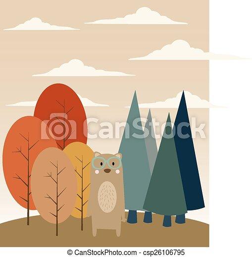 erdő, hord - csp26106795