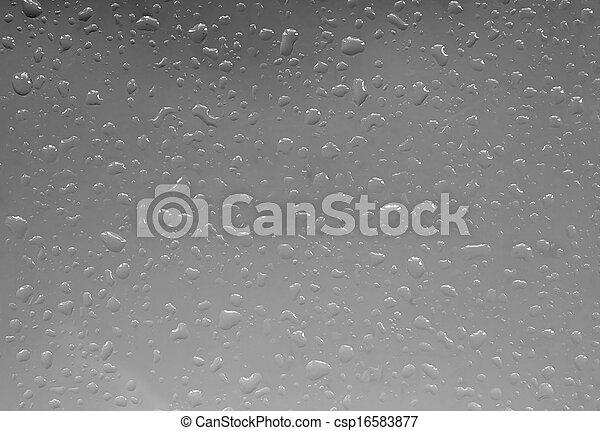 esőcsepp, elvont, ablak - csp16583877