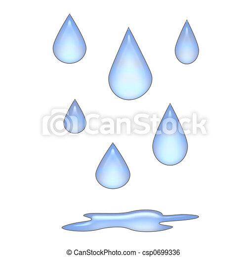 esőcseppek, 3 - csp0699336
