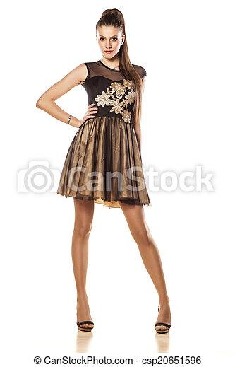 estélyi ruha - csp20651596