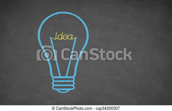 fény, fogalom, -, gondolat, gumó - csp34200307