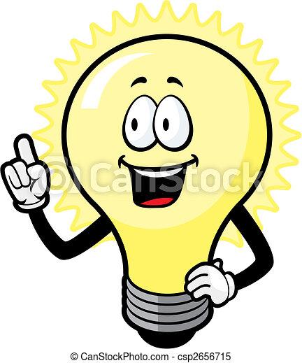 fény, gondolat, gumó - csp2656715