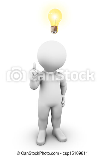 fény, gondolat, gumó - csp15109611