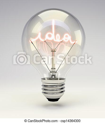 fény, gondolat, gumó - csp14364300