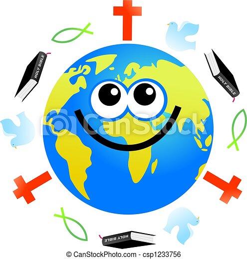 földgolyó, keresztény - csp1233756