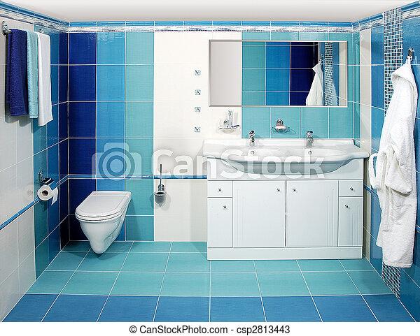 fürdőszoba, fényűzés - csp2813443