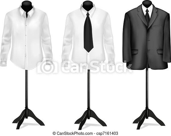 fekete, ing, illeszt, fehér - csp7161403