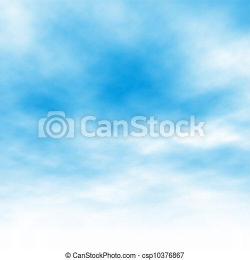 felhő, háttér - csp10376867