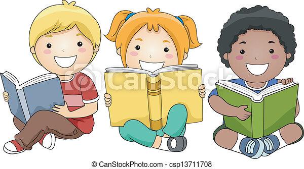 felolvasás, előjegyez, gyerekek - csp13711708