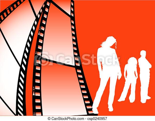 fiatalság, film mez - csp0240957