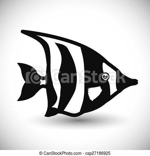 fish, design. - csp27186925