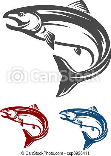 fish, lazac - csp8938411
