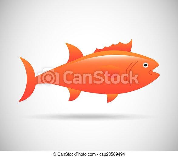 fish, tervezés - csp23589494